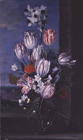 Flowers in a Crystal Vase 1652