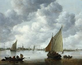 Fishingboat in an Estuary 1655