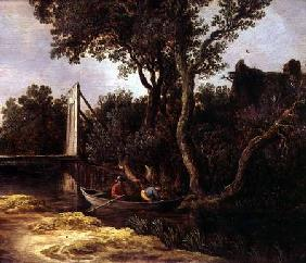 Landscape with Bridge c.1628