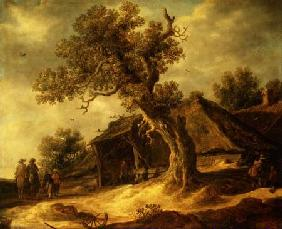 Landscape with an Oak 1634
