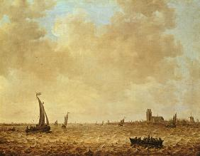 View of the Old Maas, Dordrecht