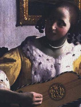 The Guitar Player c.1672