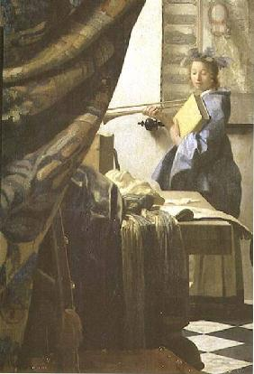 The Painter in his Studio 1665-6
