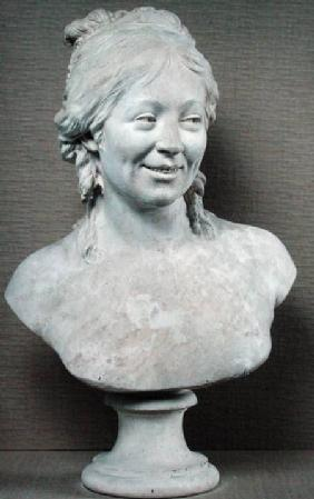 Bust of Madame Houdon c.1787