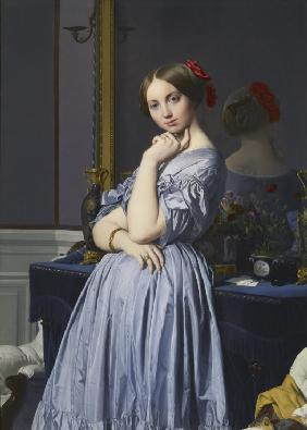 Ingres, Jean Auguste Dominique : Louise de Broglie, comtess...