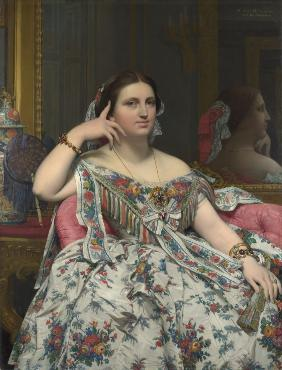 Ingres, Jean Auguste Dominique : Madame Marie-Clotilde-In�s...