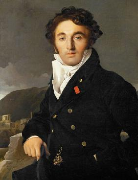 Ingres, Jean Auguste Dominique : Portrait of Charles Cordie...