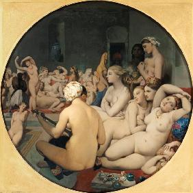 Ingres, Jean Auguste Dominique : Das t�rkische Bad.