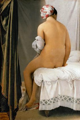 Ingres, Jean Auguste Dominique : Die Badende von Valpen�on