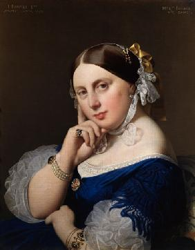 Ingres, Jean Auguste Dominique : Mme Ingres