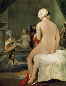 Ingres, Jean Auguste Dominique : The Little Bather in the H...