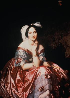 Ingres, Jean Auguste Dominique : Betty de Rothschild
