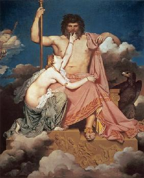 Ingres, Jean Auguste Dominique : Jupiter and Thetis