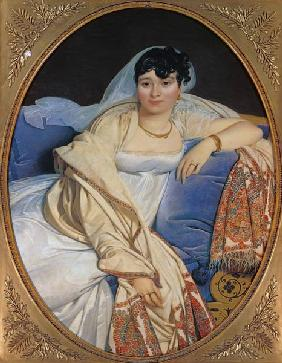 Ingres, Jean Auguste Dominique : Bildnis der Madame Rivi�re