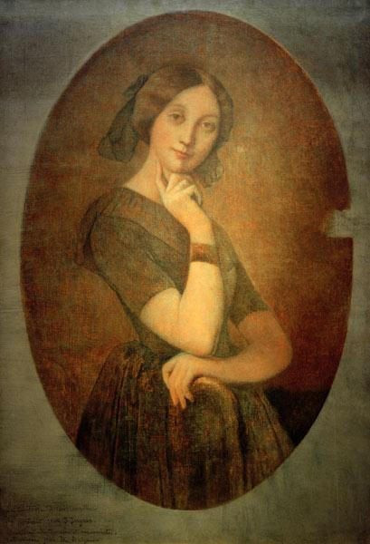 Ingres, Jean Auguste Dominique : Louise de Broglie