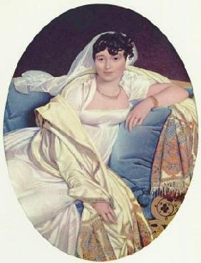 Ingres, Jean Auguste Dominique : Madame Rivi�re