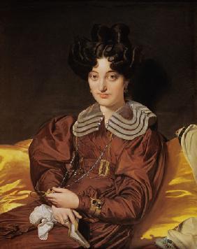Ingres, Jean Auguste Dominique : Portrait der Madame Marcot...