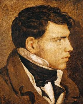 Ingres, Jean Auguste Dominique : Portrait of a Young Man