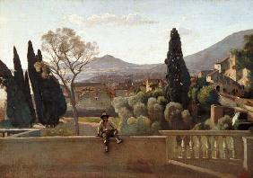 The Gardens of the Villa d'Este, Tivoli 1843