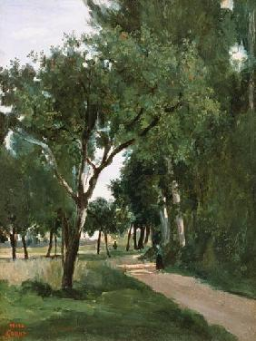 Avenue in the Woods, near Chaville c.1824