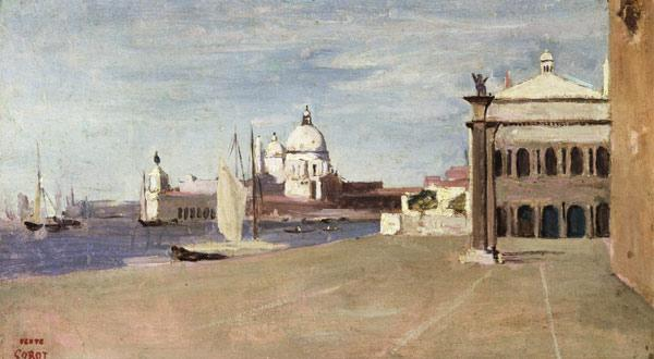 View of the Grand Canal, Venice, from the Riva degli Schiavone 1828
