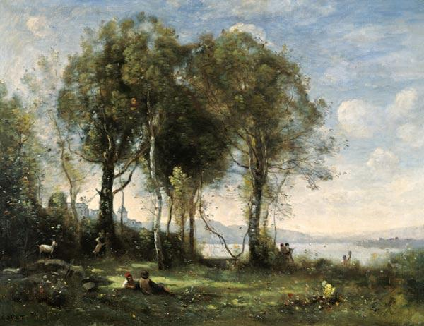 The Goatherds of Castel Gandolfo 1866