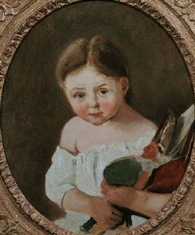 The Youngest Daughter of M. Edouard Delalain c.1845-50