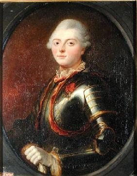 Admiral Charles-Henri Theodat (1729-94) Count of Estaing 1769