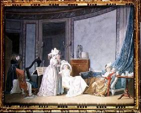 Meeting in a Salon 1790