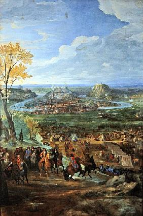 The Siege of Besancon in 1674 the army of Louis XIV