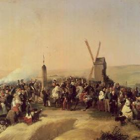 Louis-Philippe (1773-1850) Visiting the Battlefield of Valmy on 8th June 1831