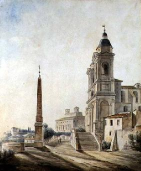 The French Academy in Rome 1827  &