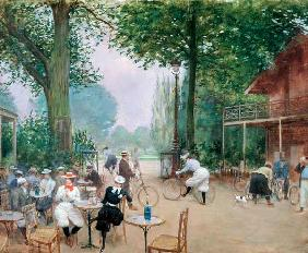 The Chalet du Cycle in the Bois de Boulogne 1900