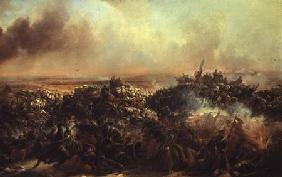 The Battle of Sebastopol, central section of triptych after 1855