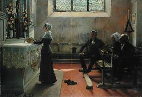 Offering to the Virgin the Day After the Wedding 1885