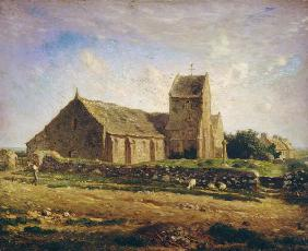 The Church at Greville c.1871-74