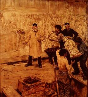 At the foundry 1886