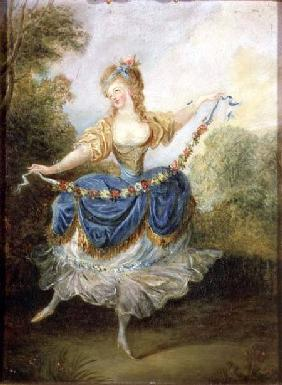 Dancer with a Garland