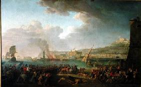 The French Army Entering Naples Under the Command of General Championnet (1762-1800) 21st January 17 1799