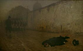 The Execution of Marshal Ney 1876