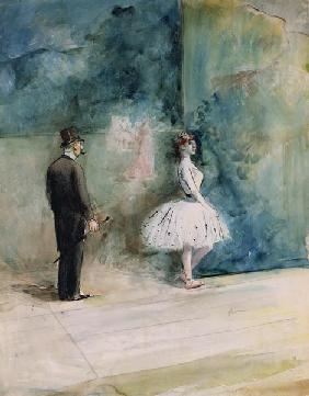 The Dancer 1890  on