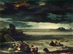 Scene of the Deluge 1818-20