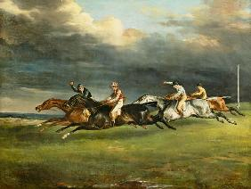 Das Derby in Epsom 1821