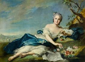 Henrietta Maria of France (1606-69) as Flora 1742
