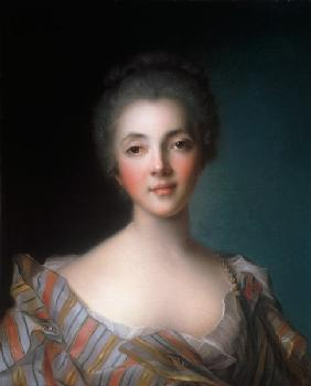 Portrait of Madame Dupin (1706-95) 18th