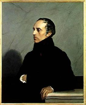 Francois Guizot (1787-1874) after a painting by Paul Delaroche (1797-1856)