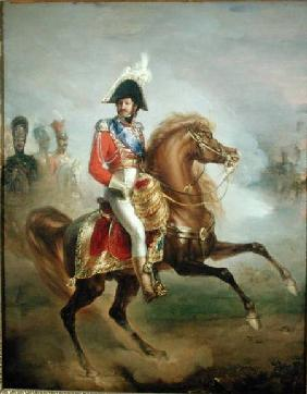 Joachim Murat ( 1767-1815) on Horseback 1814-15