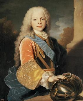 Portrait of Ferdinand de Bourbon and Savoy (1713-59) Prince of Asturias 1725