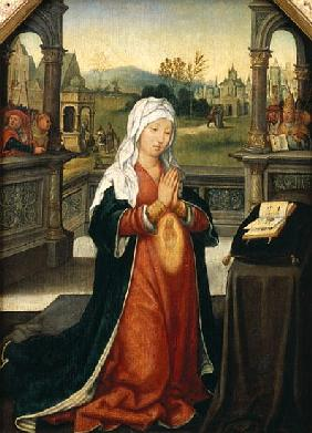 St.Anne Conceiving the Virgin