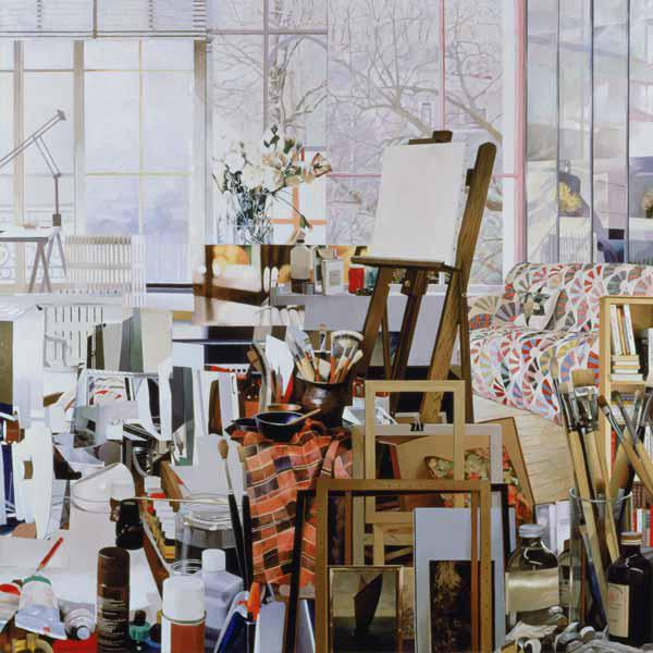 Studio, 1986 (oil on canvas)